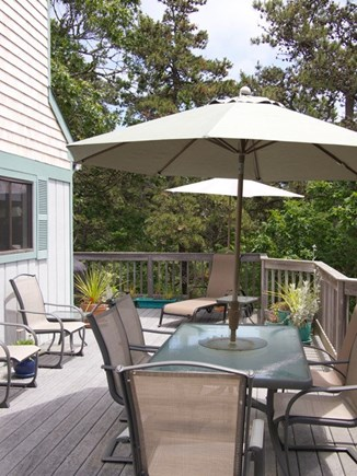 Truro Cape Cod vacation rental - Wonderful Deck
