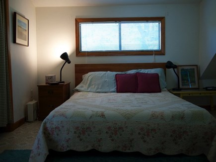 Truro Cape Cod vacation rental - Master bedroom on upper level