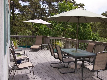 Truro Cape Cod vacation rental - Great outdoor entertaining area