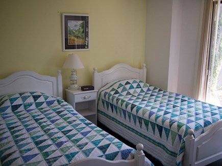 Truro Cape Cod vacation rental - Lower level bedroom with 2 twins