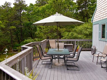 Truro Cape Cod vacation rental - Another angle of the Deck
