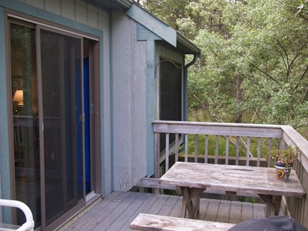 Truro Cape Cod vacation rental - Deck and grilling area
