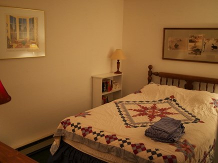 Truro Cape Cod vacation rental - Lower level bedroom with double bed