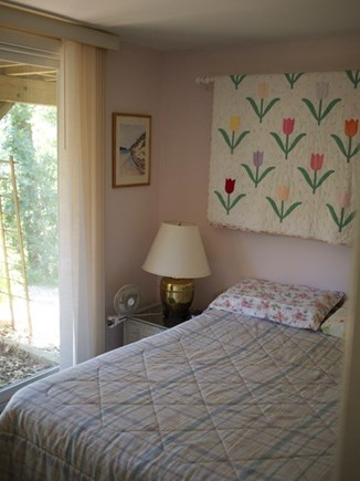 Truro Cape Cod vacation rental - Lower level bedroom with double