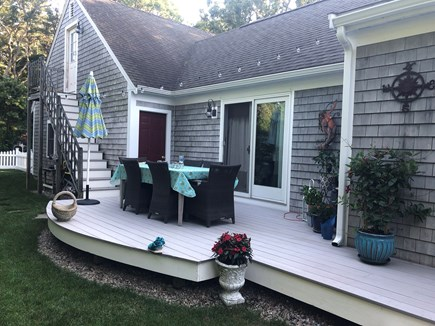 Chatham Cape Cod vacation rental - Outside dining.