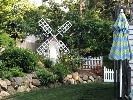Chatham Cape Cod vacation rental - Backyard windmill!