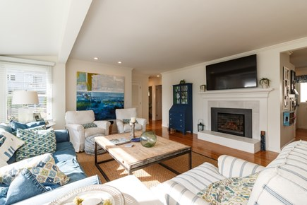Popponesset, New Seabury Cape Cod vacation rental - Bright, spacious living room