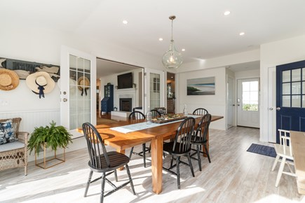 Popponesset, New Seabury Cape Cod vacation rental - Dining room with table that could sit 10