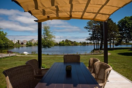 Popponesset, New Seabury Cape Cod vacation rental - Dining deck and pergola
