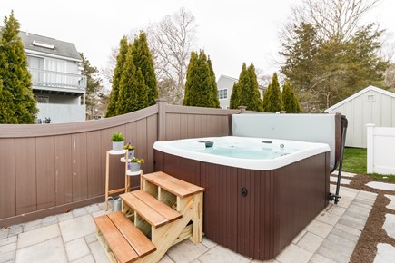 Popponesset, New Seabury Cape Cod vacation rental - 45 Jet Hot Tub-Tub drained during July & August