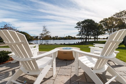 Popponesset, New Seabury Cape Cod vacation rental - View from Fire Pit, Deans Pond