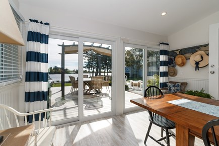 Popponesset, New Seabury Cape Cod vacation rental - Dining room with sliders to the deck and water views