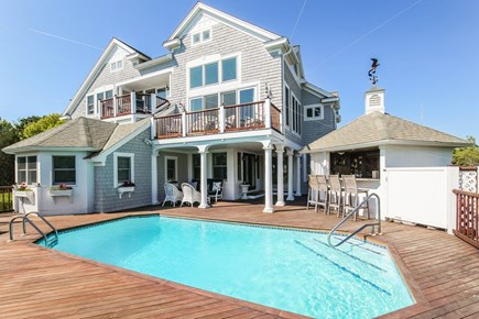West Yarmouth Cape Cod vacation rental - Multi level home with heated pool