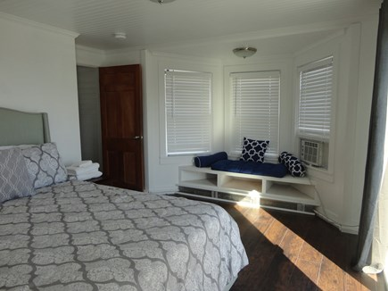 West Yarmouth Cape Cod vacation rental - 2nd floor queen bedroom with sliders to deck