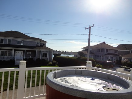 West Yarmouth Cape Cod vacation rental - Hot Tub with a view from 2nd floor deck