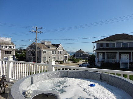 West Yarmouth Cape Cod vacation rental - View looking the other way from the Hot Tub