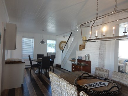 West Yarmouth Cape Cod vacation rental - Room for everyone at the oversized dining table...