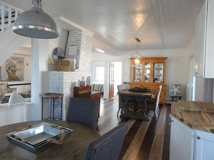 West Yarmouth Cape Cod vacation rental - ...and breakfast table