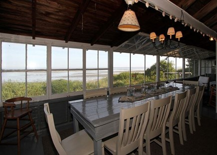 Brewster Cape Cod vacation rental - Dining Area /porch