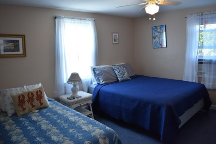 Hyannis Cape Cod vacation rental - bedroom with 1 queen and 1 twin