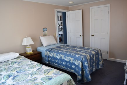 Hyannis Cape Cod vacation rental - the other bedroom with 1 queen and 1 twin