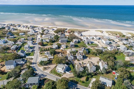 Dennis, Mayflower Beach Cape Cod vacation rental - The neighborhood with a view of the beach