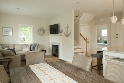Dennis, Mayflower Beach Cape Cod vacation rental - An example of one of the first floor dens-Listing #29072