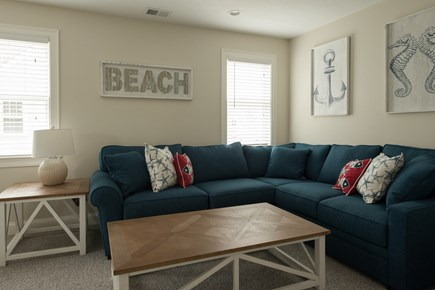 Dennis, Mayflower Beach Cape Cod vacation rental - An example of one of the second floor dens-with pull out couch