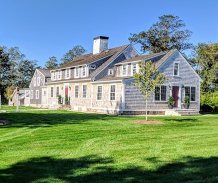 East Dennis Cape Cod vacation rental - Spacious lawns around the home