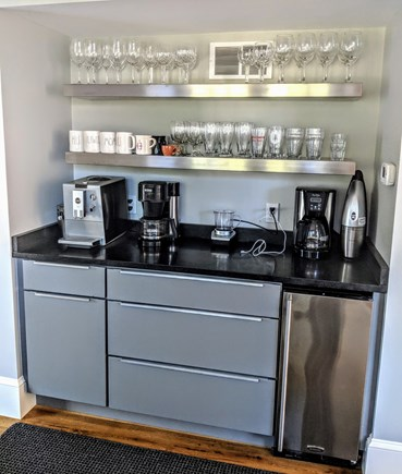 East Dennis Cape Cod vacation rental - Coffee station with Icemaker