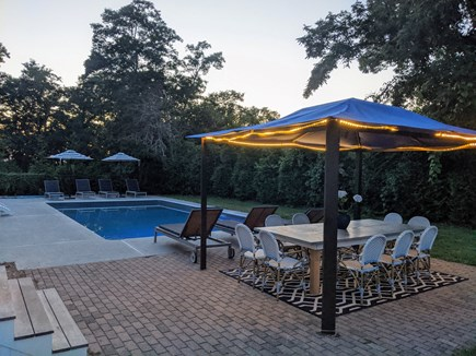East Dennis Cape Cod vacation rental - Pool area