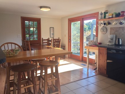 Brewster Cape Cod vacation rental - Kitchen view toward dining area