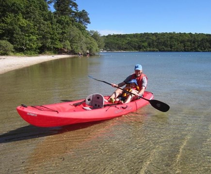 Brewster Cape Cod vacation rental - Go for a Paddle!