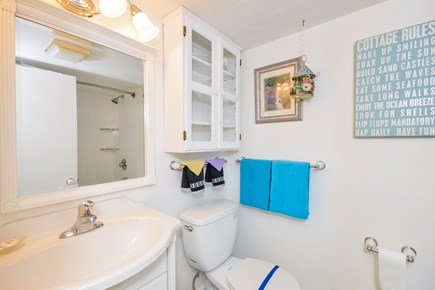 Chatham Cape Cod vacation rental - Bathroom #1 with tub and shower