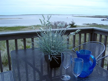 Chatham Cape Cod vacation rental - Private deck with views to the ocean and harbor