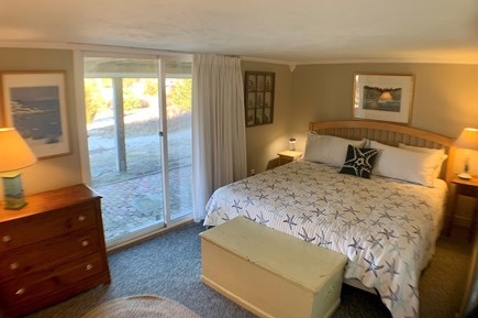 Chatham Cape Cod vacation rental - Kind bedroom, slider to patio
