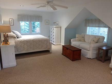 Hyannis, Barnstable Cape Cod vacation rental - Master Bedroom with love seat.