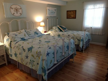 Hyannis, Barnstable Cape Cod vacation rental - First floor bedroom with full and twin beds.