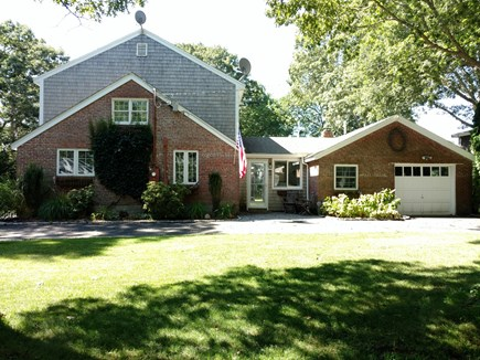 Hyannis, Barnstable Cape Cod vacation rental - Front of the house, on a quiet, private street.