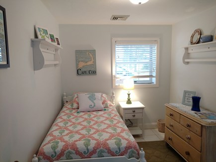 Hyannis, Barnstable Cape Cod vacation rental - Private twin bedroom near the laundry room with own half bath