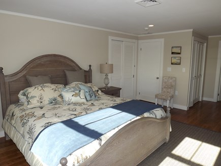 Chatham Cape Cod vacation rental - First Level Master King Bedroom With Private Bath and Views