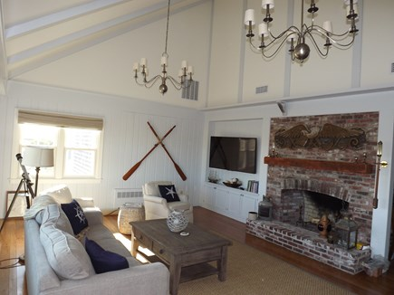 Chatham Cape Cod vacation rental - Another View of Family Room with Views
