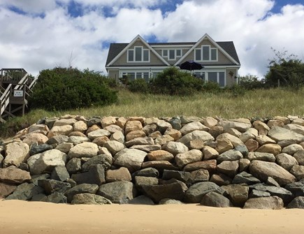Eastham Cape Cod vacation rental - Beach house with steps to the private beach