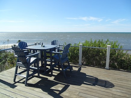 Eastham Cape Cod vacation rental - Best spot to sit, relax, take deep breaths and watch the sea