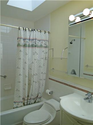Brewster Cape Cod vacation rental - Upstairs Master bathroom with walk in shower, bidet,all new.