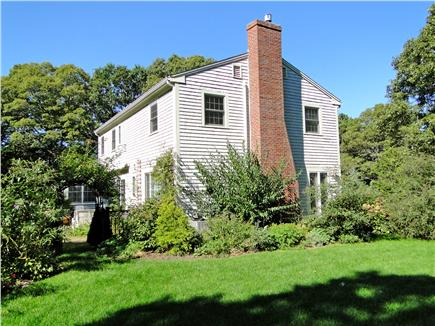 Brewster Cape Cod vacation rental - Large enclosed side yard, great room for outdoor games