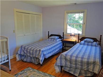 Brewster Cape Cod vacation rental - Twin boys bedroom upstairs