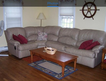 Falmouth, Teaticket Cape Cod vacation rental - Another sitting area off the kitchen