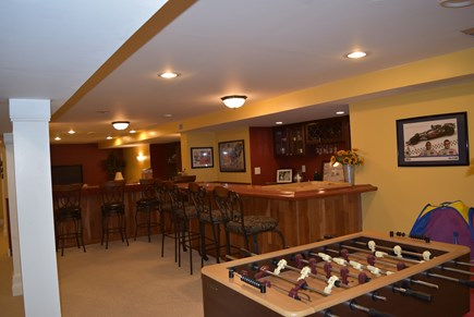 West Yarmouth Cape Cod vacation rental - Foos ball and bar