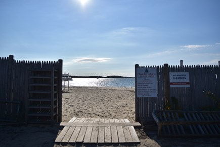 West Yarmouth Cape Cod vacation rental - Crowell Rd. Beach a short 2/10 mile walk away!